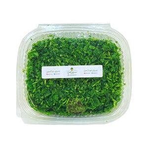 سبزی آش - سبزیجات تازه و خرد شده